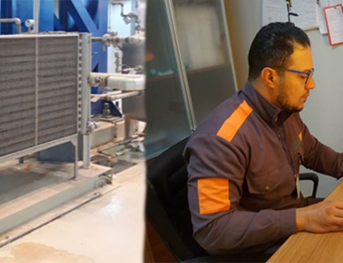 Repair of Heat exchanger tubing in APU Skid on GT-1